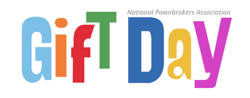 National Pawnbrokers Association Gift Day Logo